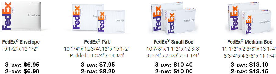 FedEx One Rate pricing through MintFulfill